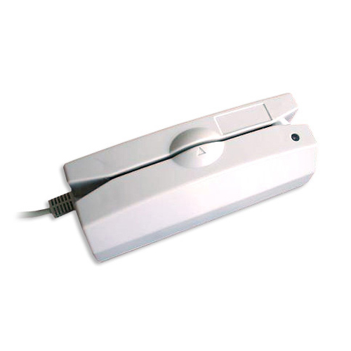 Programmable magnetic card reader.