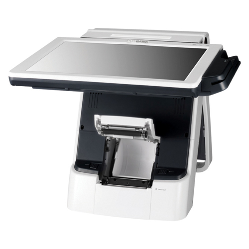 Adjustable Screen Angle and Integrated Printer - IMPREX POS