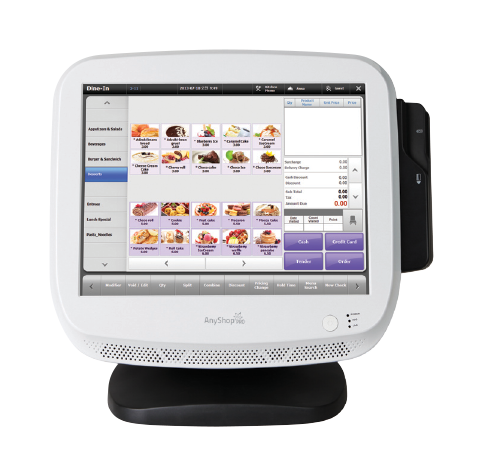 Touch Screen AnyShop Pro Point of sale system