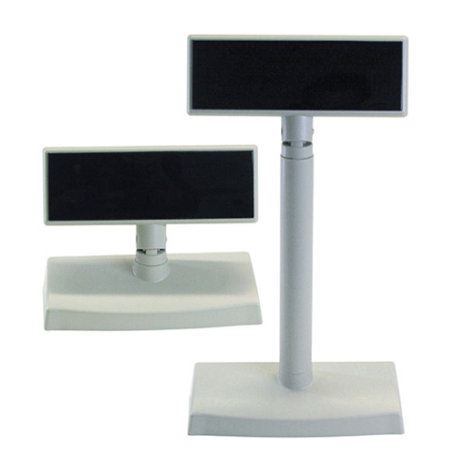 POS Customer Displays Pole & desktop, white or black color available