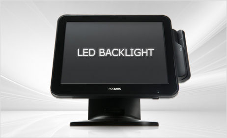 POSBANK Touch Monotor - POSMO II - Low Power Backlight Display